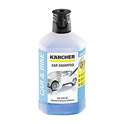 Kärcher 1 L, 3-in-1 Car Shampoo Plug and Clean, Pressure Washer Detergent from Kärcher