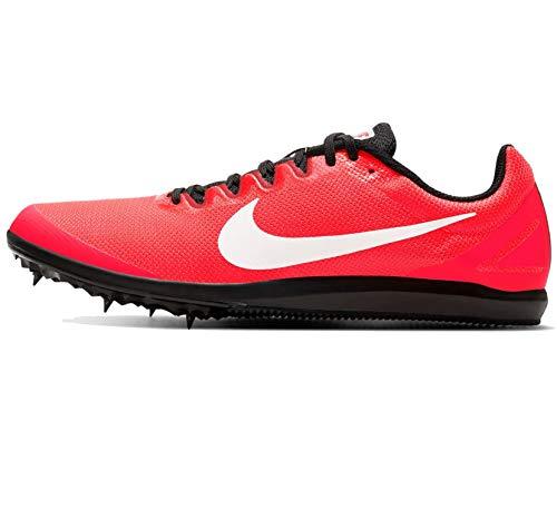 Nike Zoom Rival D 10, Scarpe da Corsa Unisex-Adulto, Laser Crimson/White-Black-University Red, 40 EU