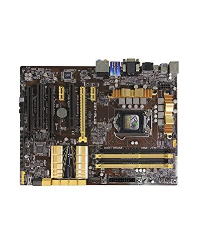 YLYWCG Placa Base de computadora Apta para ASUS Z87-PLUS Placa Base de Escritorio para Intel LGA 1150 DDR3 para I3 I5 I7 CPU 32GB SATA3 USB2.0 USB3.0 Placa Base
