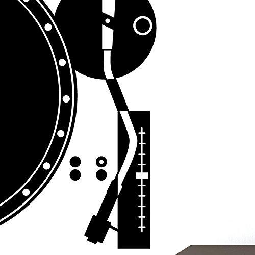 Ambiance-Live vintage platenspeler 73 x 40 cm Intensief groen.
