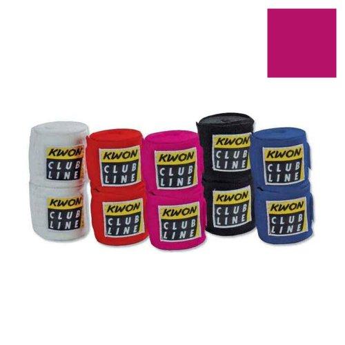 Club LINE Boxbandagen elastisch in 5 Farben (pink)