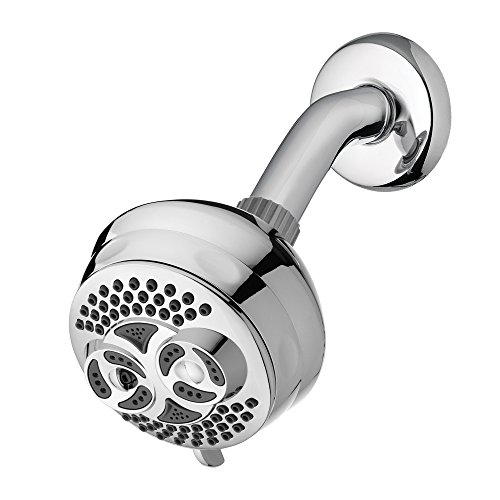 Waterpik DSL-623 Twin Turbo Fixed Mount High Pressure Massage Shower Head