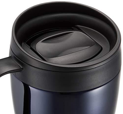 和平フレイズマグカップ330mlネイビー蓋付き保温保冷オフィスマグフォルテックハウスRH-1291