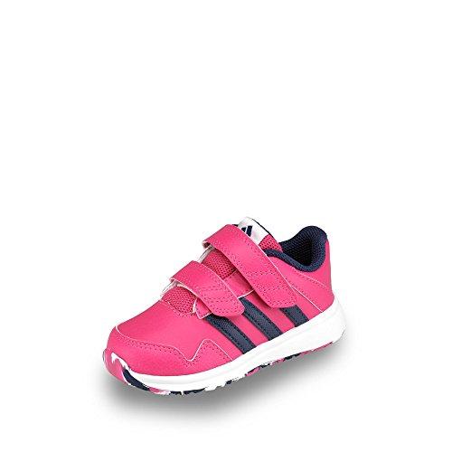 adidas Snice 4 CF I, Zapatos (1-10 Meses) Unisex bebé, Rosa/Morado/Blanco (Eqtros/Mornat/Ftwbla), 22 EU