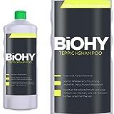 BIOHY Teppichshampoo 1 Liter Flasche - Shampoo für Teppich und Waschsauger/Teppichreiniger zur...