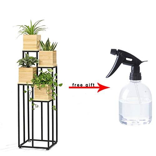 Flower stand*-/ Draagbare Metalen Plant Houder Creatieve Kamer Grote Opslag Rack Zwevende Plank Voor Indoor Decor hj71