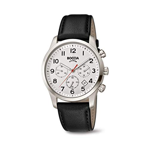 Boccia Titan Chronograph für Herren 3749-01