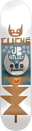 Generic Cliche Skateboard-10026471Elvira JB Automobiles Gillet Skateboard Deck, 8,25