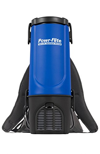 Powr-Flite BP4S Pro-Lite Backpack Vacuum, 22.5' Height, 9.5' Length