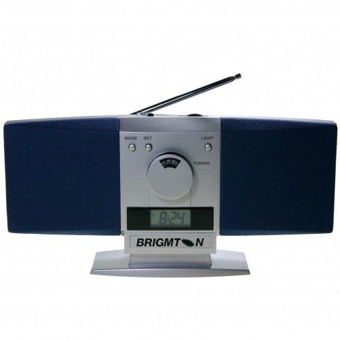 52272   Radio Brigmton Bt-242 Radio Am / Fm 2 Altavoces y Alarma