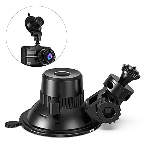 Dashcam Halterung Saugnapf - Dash Cam Halterung Video Recorder Halterung auf Windschutzscheibe für DVR Kamera GoPro Camcorder GPS Navigation