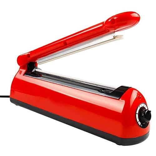 WKZWY-furniture cover Folienschweißgerät Balkenschweißgerät Folienschweißer Schweißgerät, 8 Geschwindigkeiten Automatische Heißsiegelung (Color : Red)