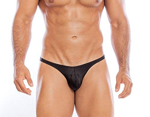 Daniel Alexander Men's Sexy Brazilian Bikini Mens Underwear, Lightweight, Ultr Mens Underwear Black