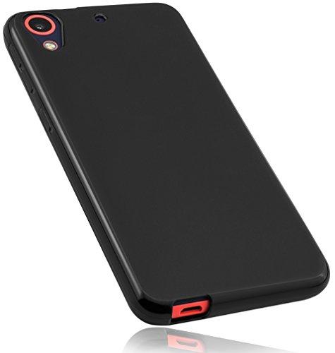 mumbi Hülle kompatibel mit HTC Desire 628 Handy Hülle Handyhülle, schwarz