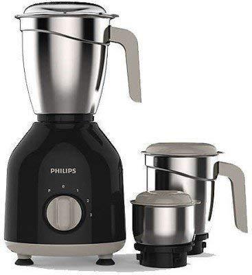 Philips HL7756 750-Watt Mixer Grinder with 3 Jars (Black)
