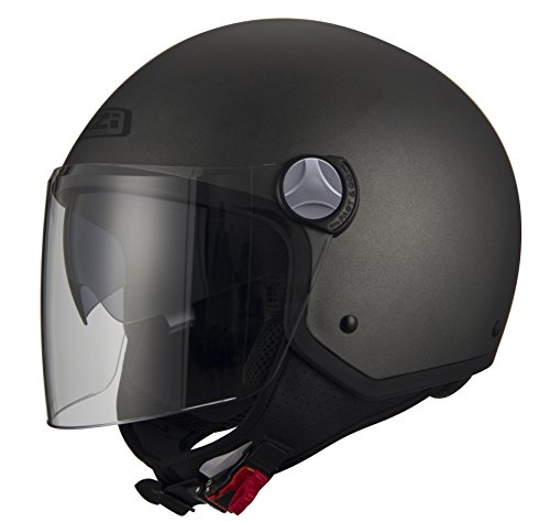 NZI Open Helmets, Anthracite, Size L