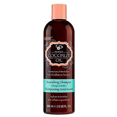 HASK Monoi Coconut Oil Nourishing Shampoo, 355 ml