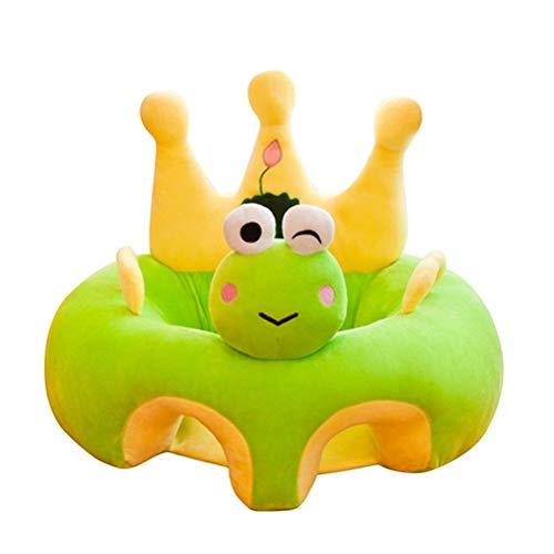 spier Silla de bebé sentada, cómoda y suave silla de apoyo para bebé, silla de aprendizaje para sentarse de peluche para niños pequeños de 3 a 24 meses