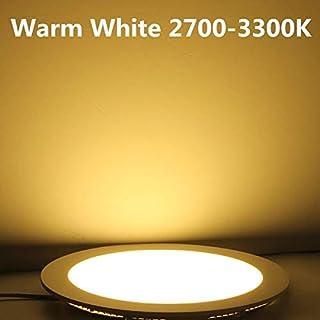 LONGWDS Dimpiente LED Downlight 3W-30W 85-265V Cálido Blanco/Blanco Natural/fría Blanco Empotrable LED LED Luz de Panel (E...