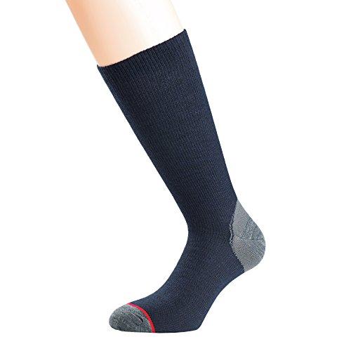 1000 Mile Herren Walking Socken Ultimate Lightweight Walkingsocks, Blau, L, 3195NL