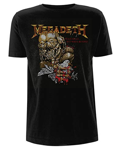 Megadeth 'Peace Sells But Who's Buying' T-Shirt - New & !
