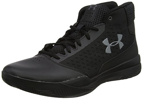 Under Armour Men's Jet 2017 Basketball Shoe, Black (001)/Black, 11.5