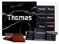 """DA CHOCOLATE キャンディ スーベニア """"男性の名前"""" MALE NAMES チョコレートセット 5×5一箱 (Thomas)"""
