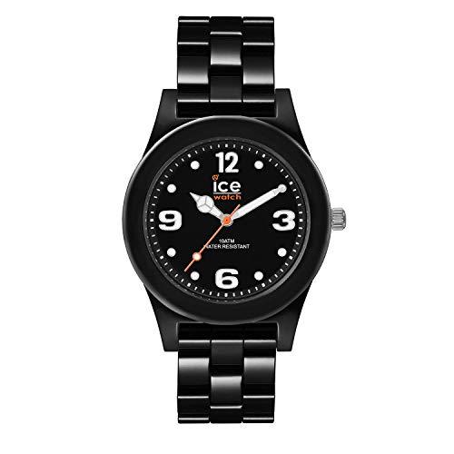 Ice-Watch - ICE slim Black - Schwarze Herren/Unisexuhr mit Plastikarmband - 015777 (Medium)