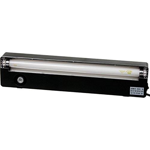 Zilla Slimline Reptile Fluorescent Lighting Fixture with 3-Percent UVB Lamp, 18-Inch