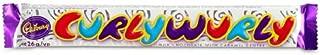 Cadbury Curly Wurly British Chocolate Bar 26g x 10 bar
