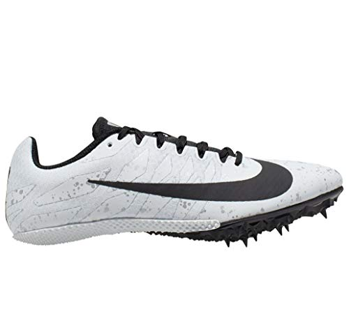 Nike Damen Women's Zoom Rival S 9 Track Spike Leichtathletikschuhe, Mehrfarbig (Pure Platinum/Black/Metallic Silver 004), 40 EU