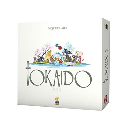 RWX Tokaido-Brettspiel, Familie und Freunde, die lässig-Kartenspiel, Strategiespielspielzeug, für kreatives Geschenk (englische Version)