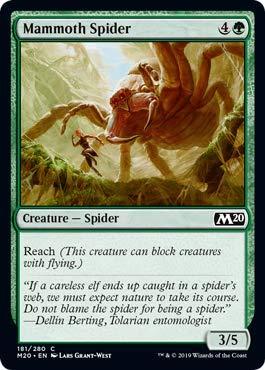Magic: the Gathering - Mammoth Spider - Ragno Mammut - Core Set 2020
