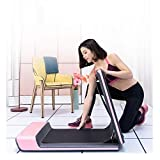 HBL-SPORT LaufbandFolding Household kleine leise Gehmaschine Limitierte Auflage Pink