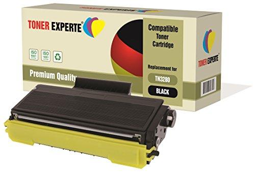 TONER EXPERTE® TN3280 Toner compatibile per Brother HL-5340D, HL-5350DN, HL-5350DNLT, HL-5370DW, HL-5380DN, DCP-8070D, DCP-8085DN, MFC-8370DN, MFC- 8380DN, MFC-8880DN, MFC-8890DW