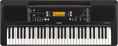 YAMAHA PSR-E363 61-Key Touch Sensitive Portable Keyboard (Power adapter sold separately)