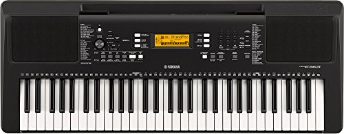 YAMAHA PSR-E363 61-Key Touch Sensitive Portable Keyboard (Power adapter sold separately)