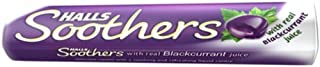 Halls Soothers Blackcurrant Flavour (pack of 20) with Real Blackcurrant Juice