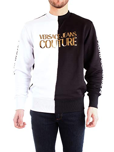 Versace B7GVA7GD30325 - Sudadera para hombre, talla L, color negro