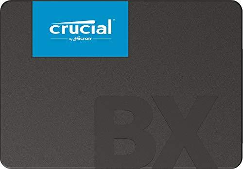 Crucial BX500 240 GB CT240BX500SSD1 Unidad interna de estado sólido, hasta 540 MB/s (3D NAND, SATA, 2.5 Pulgadas)