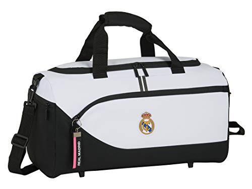 Safta 712054553 Bolsa Deporte Bolso de Viaje Real Madrid CF