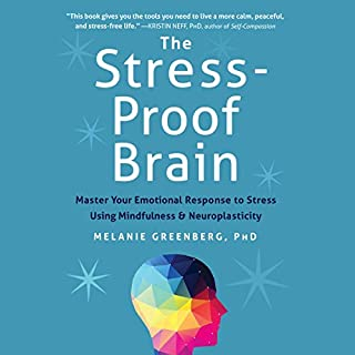The Stress-Proof Brain cover art