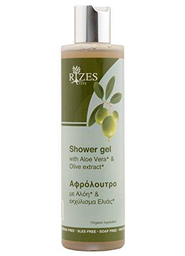 Original Rizes Shower Gel Aloe Vera & Olive Extract | Duschgel mit Aloe Vera & Olivenextrakt | 100% Naturkosmetik & vegan