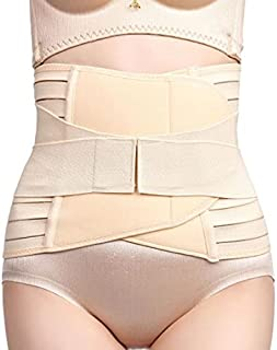 Dilency Sales ® Women's Postpartum Pregnancy Recovery Belly Band Waist Trainer Cincher Trimmer Tummy Control Slimming Body...