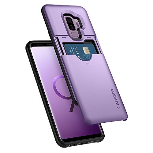 Spigen Cover Slim Armor CS Compatibile con Samsung Galaxy S9 Plus - Lilac Purple