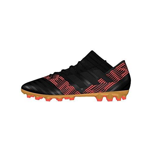adidas Herren Nemeziz 17.3 AG Fußballschuhe, Mehrfarbig (Cblack/cblack/Solred Cp8994), 42 EU