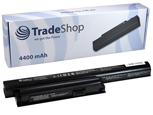 Trade-Shop - Batteria agli ioni di litio ad alte prestazioni 4400 mAh compatibile con VGP-BPL26 VGP-BPS26 VGP-BPS26A per SONY VAIO CA CB VPCCA VPCCB EG EH EJ VPCEG VPCEH VPCEJ serie VPCCA16EC VPCCA17EC VPCCA18EC VPCCA26EC VPCCA27EC VPCCA28EC