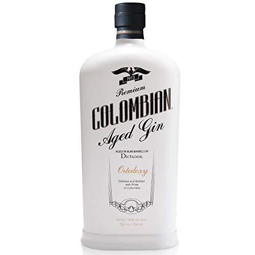 PREMIUM KOLUMBIANISCHER GEALTERTER GIN ORTODOXY 70 CL