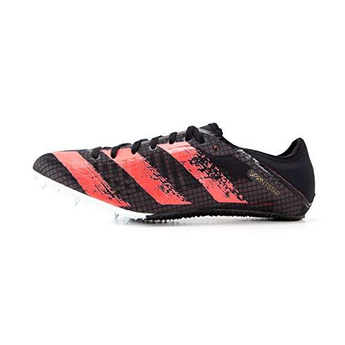 adidas Sprintstar, Zapatillas de Atletismo Hombre, NEGBÁS/ROSSEN/COBMET, 42 EU