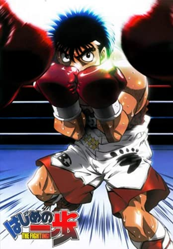 """Hajime No Ippo the Fighting: Japanese Anime Notebook, Otakus Gifts (6"""" X 9"""" 100 Pages) With Blank Paper for Drawing, Writing, Sketching Notebook for Manga Boys, Girls, Teens, Teen Artists."""